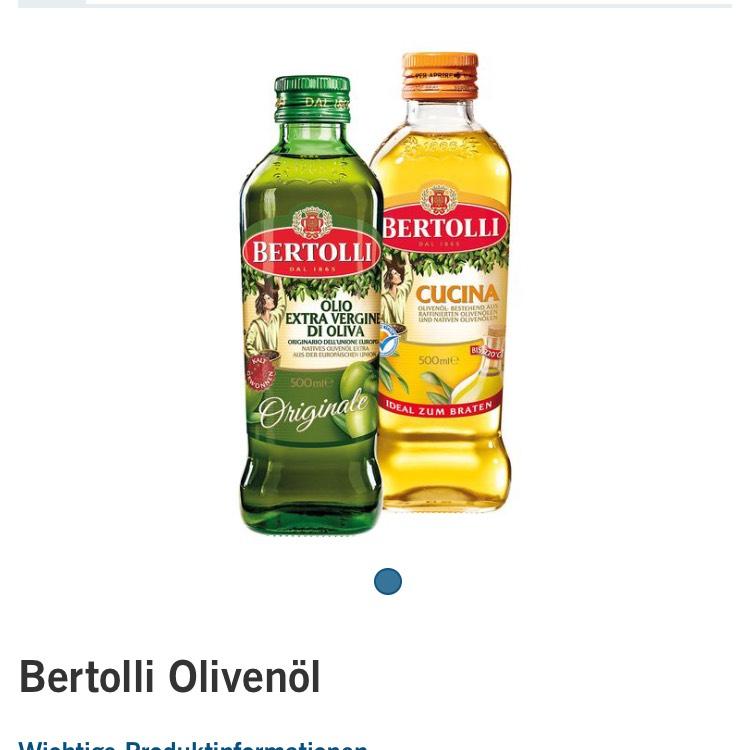 Bertolli Olivenöl 500ml verschiedene Sorten bei Lidl