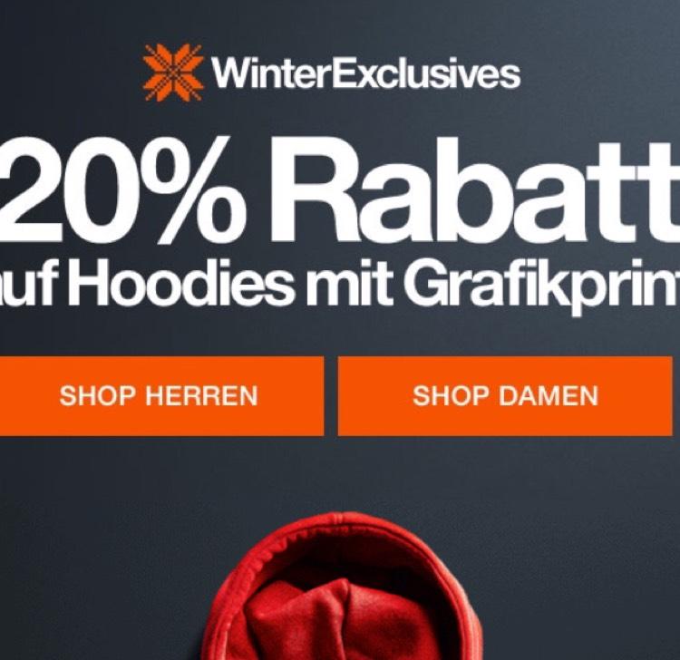 Superdry 20% auf hoodies