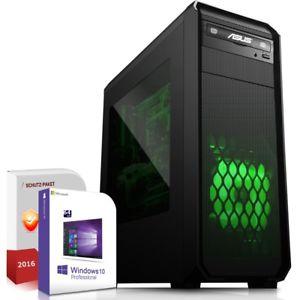 Komplett PC System AMD A8-7650K 16GB 120GB SSD 320GB HDD Win 10 Rechner
