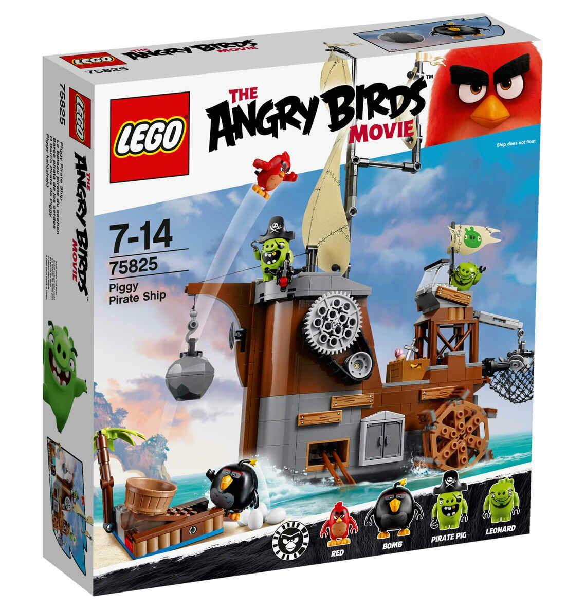 LEGO  Angry Birds  Piggy Pirathe Ship 75825