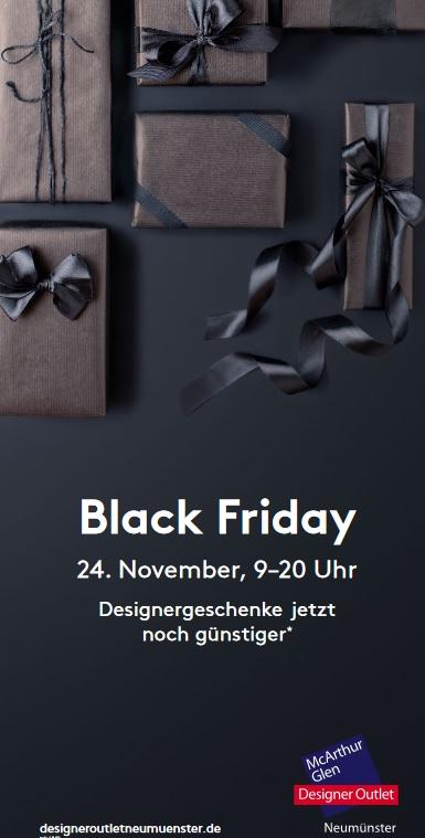 [Lokal] Designer Outlet Neumünster - Black Friday Angebote - bis 50% Rabatt in 89 Stores