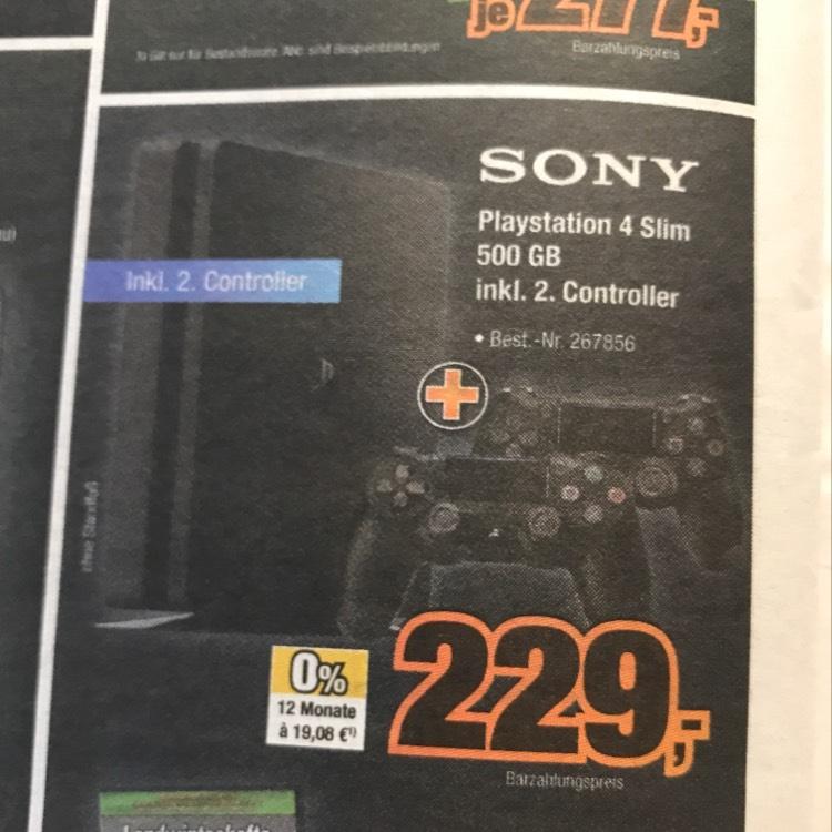 [expert BENING / Norddeutschland] PlayStation 4 inkl. 2 Controller