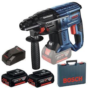 Schnapper für ebay plus Mitglieder Bosch Akku-Bohrhammer  GBH 18V-20 Professional mit 2 Akkus 18 Volt 5,0 Ah