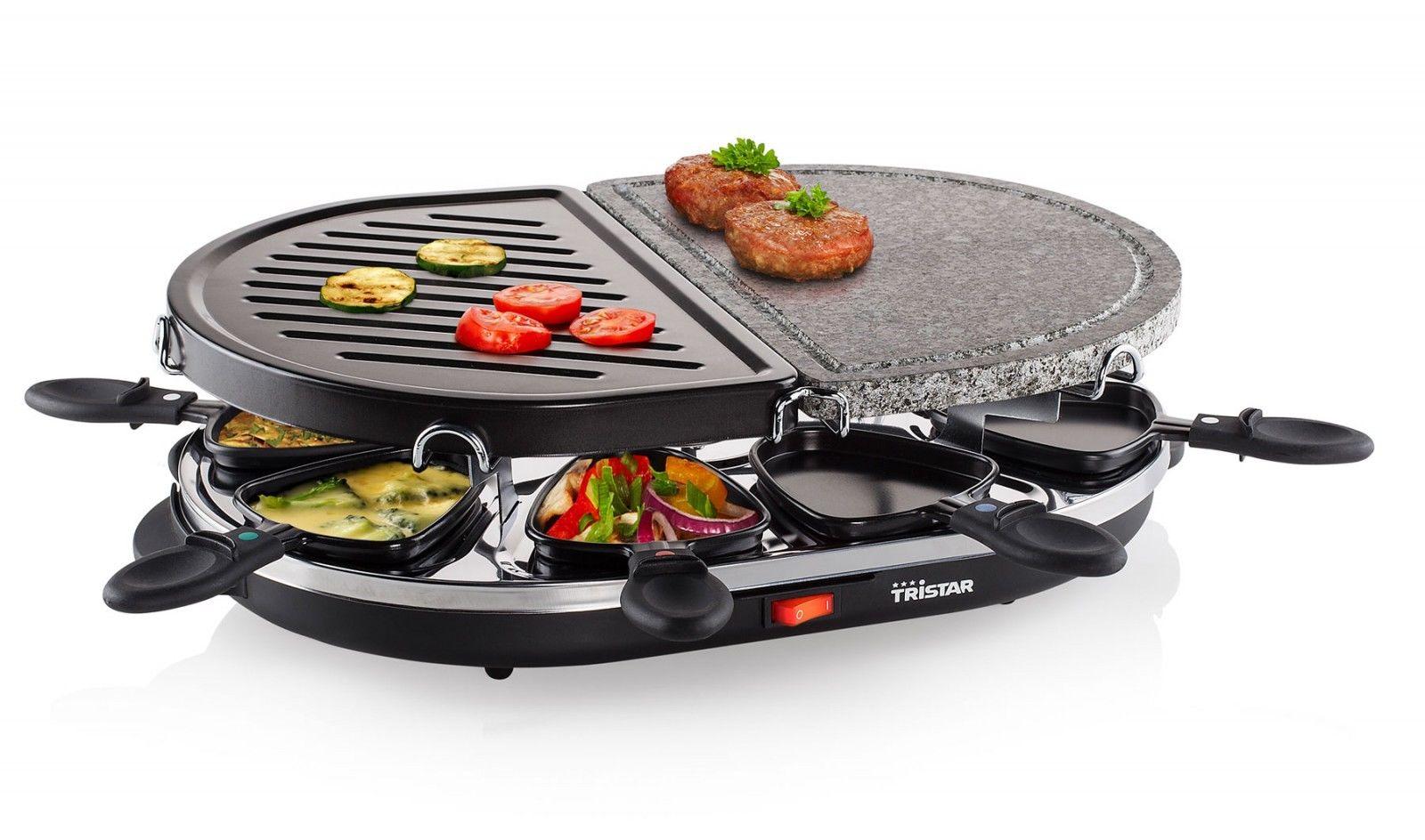 Heißer Stein Barbeque Tristar RA-2946 Raclette-Grill für 19,99€ [Clas Ohlson]