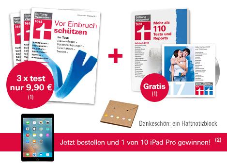 """3 Ausgaben Stiftung Warentest """"Test"""" + Jahrbuch + Archiv CD-ROM"""