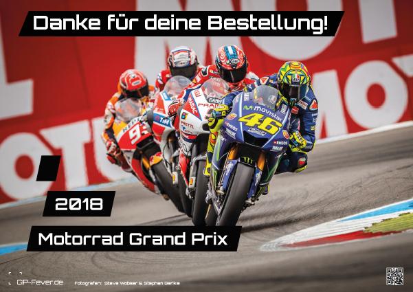 2018er - Wandkalender: Motorrad-WM, Valentino Rossi, Marc Marquez und Grid Girls