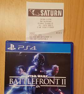 Lokal Saturn Bad Oeynhausen: Star Wars Battlefront II PS4 Standard Edition