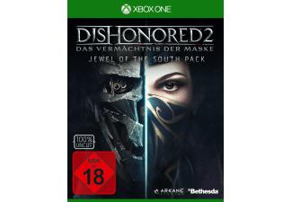 Dishonored 2: Das Vermächtnis der Maske (Exklusives Metal Plate Pack)  (Xbox One) für 12€ versandkostenfrei (Saturn)