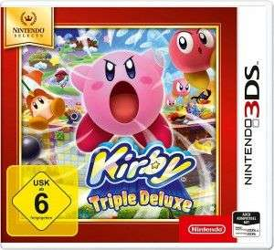 Nintendo 3DS - Kirby: Triple Deluxe Nintendo Selects  10€ plus Versand