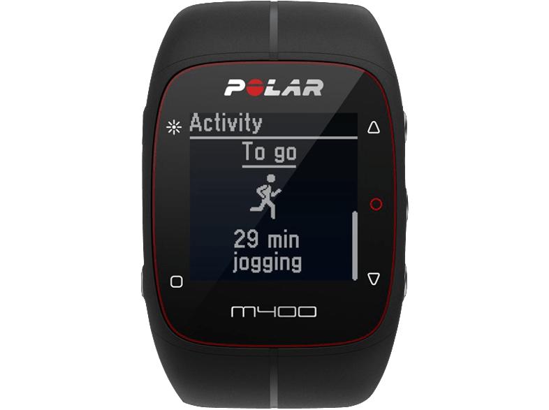 [Mediamarkt und Amazon] Polar M400 + Herzfrequenzgurt in schwarz