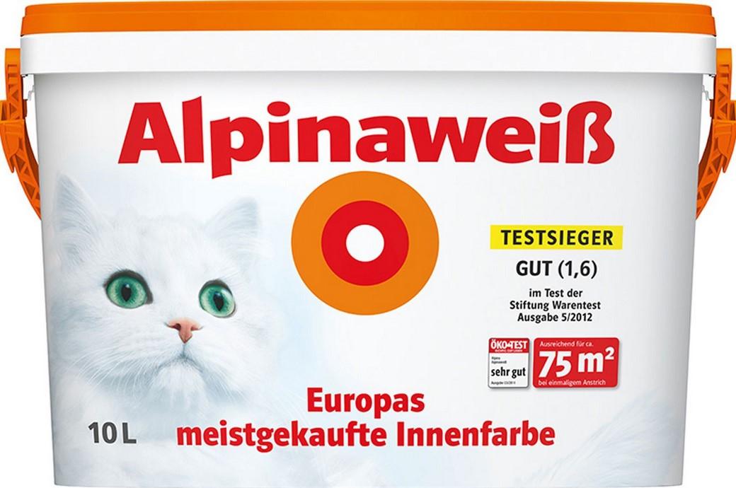 """Alpinaweiß - Das Original - """"mit Katze"""" - 10 Liter - 37€"""