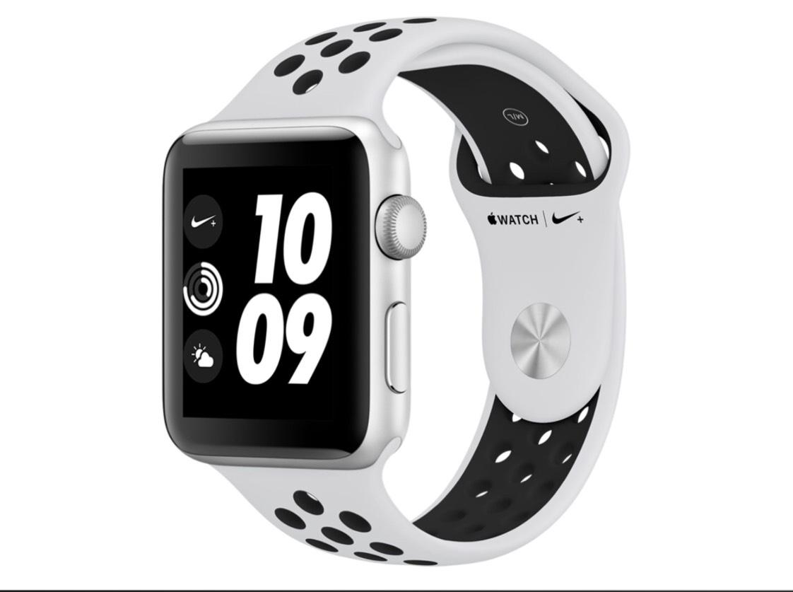 Apple Watch 3 Nike+ Silber 42mm