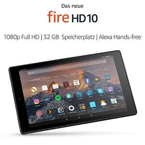 [Amazon Cyber Monday] Fire HD 10-Tablet mit Alexa Hands-free, (10,1 Zoll) 1080p Full HD, 32GB