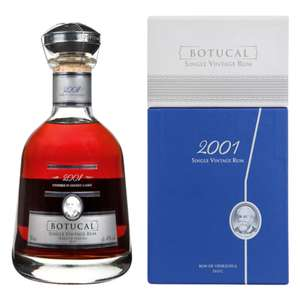 [Real] Botucal Single Vintage Rum 2001