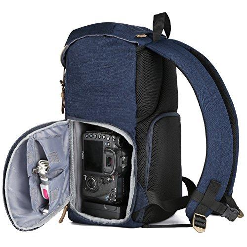 K&F Concept Kamerarucksack für DSLR/DSLM mit Regenschutzhülle