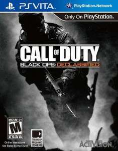Call of Duty Black Ops Declassfield PsVita