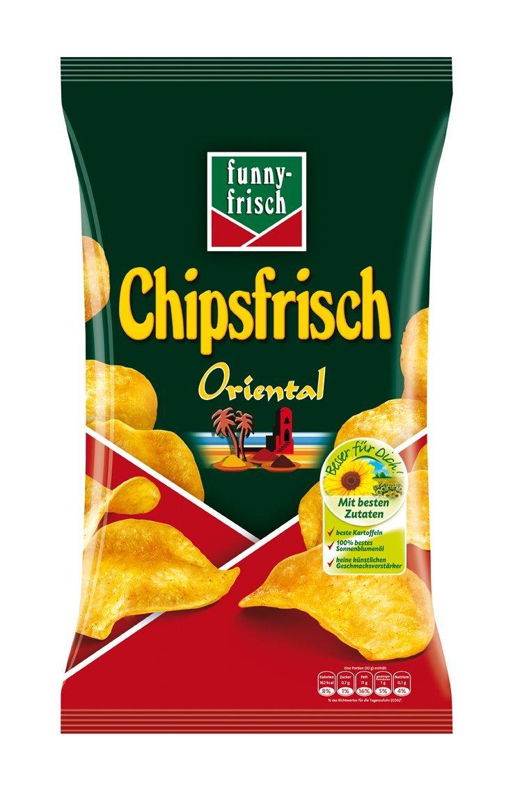Amazon.de Chips im Sparabo wie z.B. 5er Pack Chipsfrisch Oriental für 4,24€ d.h. 0,85€ pro Packung