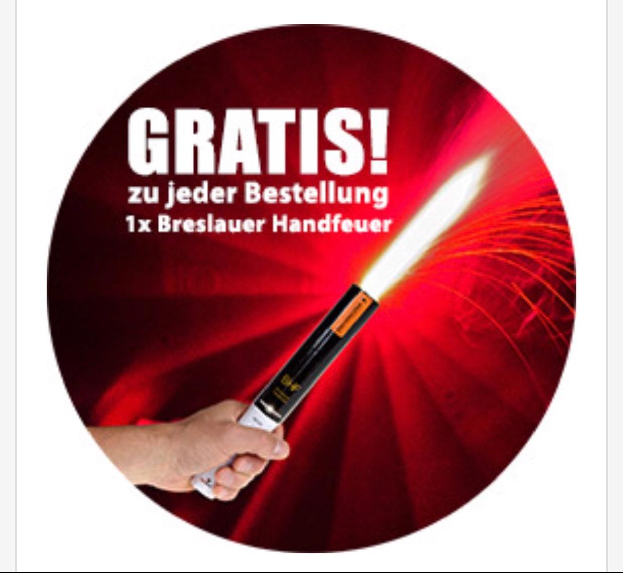 Gutscheinfehler bei pyroland - Breslauer Handfeuer gratis