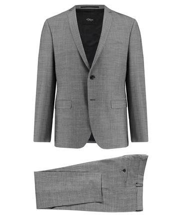 """S'Oliver Slim fit Anzug """"Cosimo"""" Black Label Silber mel. 84,91 EUR / blau 110,41 EUR + zusätzlich 7% Cashback via Shoop (engelhorn.de) dank 15% Gutschein"""