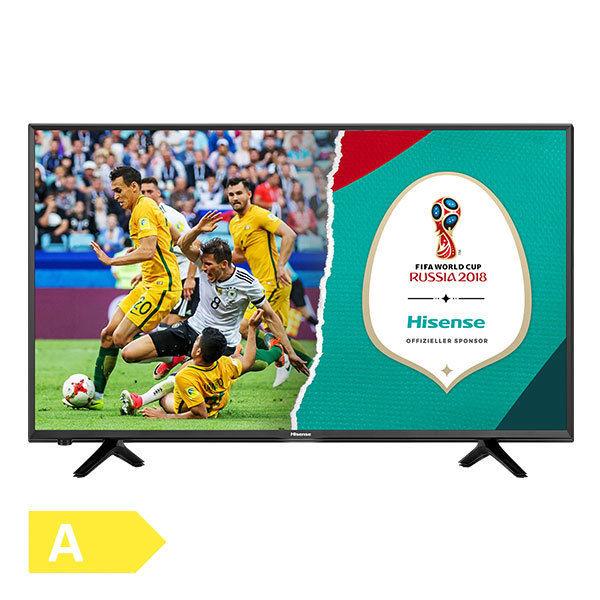 "[Ebay] Hisense H43NEC5205 43"" 108cm 4K UltraHD Fernseher LED SmartTV schwarz EEK A"