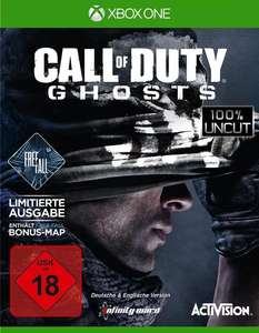 Call of Duty: Ghosts Free Fall Edition (Xbox One) für 4,96€ (GameStop)