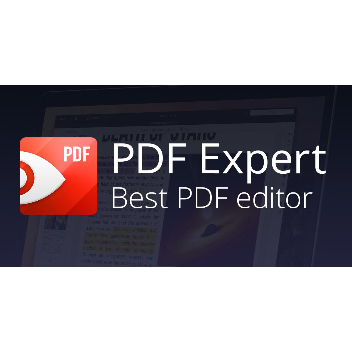[macOS] PDF Expert von Readdle für ~ €25,43