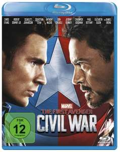 The First Avenger: Civil War (Blu-ray) für 6,81€ & Jackie Brown Special Edition (Blu-ray) für 6,78€ (Amazon Prime + Dodax)