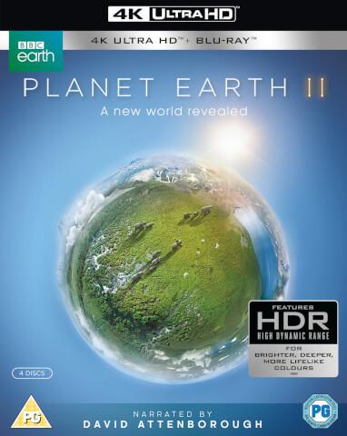 [zavvi.de] Bestpreis - Planet Earth II 4k UHD / Planet Erde II: Eine Erde - viele Welten (4K Ultra HD) (2 BR4K) (+2 BRs)