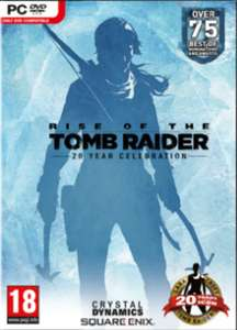 Rise of the Tomb Raider: 20 Year Celebration (Steam) für 10,82€ (CDKeys)