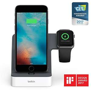 Belkin PowerHouse™ iPhone Dockingstation weiß