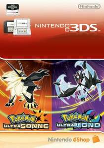 Pokemon Ultrasonne und Ultramond - Digital Ultra Dual Edition - eShop Code Bundle