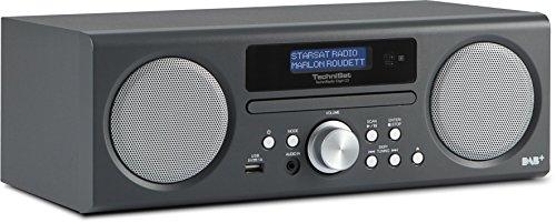 [Amazon] TechniSat TECHNIRADIO DIGIT CD - Digitalradio (10 Watt RMS, DAB+, DAB, PLL-UKW Tuner, CD/MP3 Player, USB) anthrazit