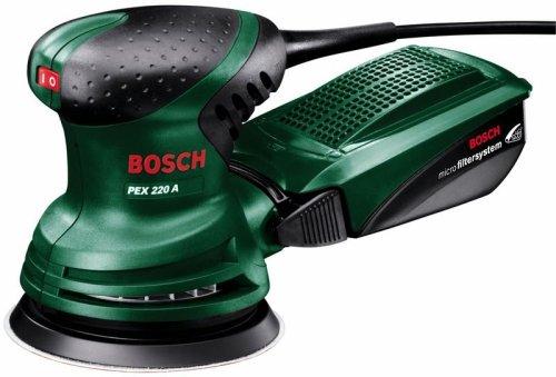 Bosch Exzenterschleifer PEX 220 A (kostenloser Versand für Prime)