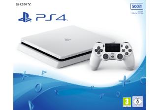 Playstation 4 Slim weiß für 199€ bei Saturn