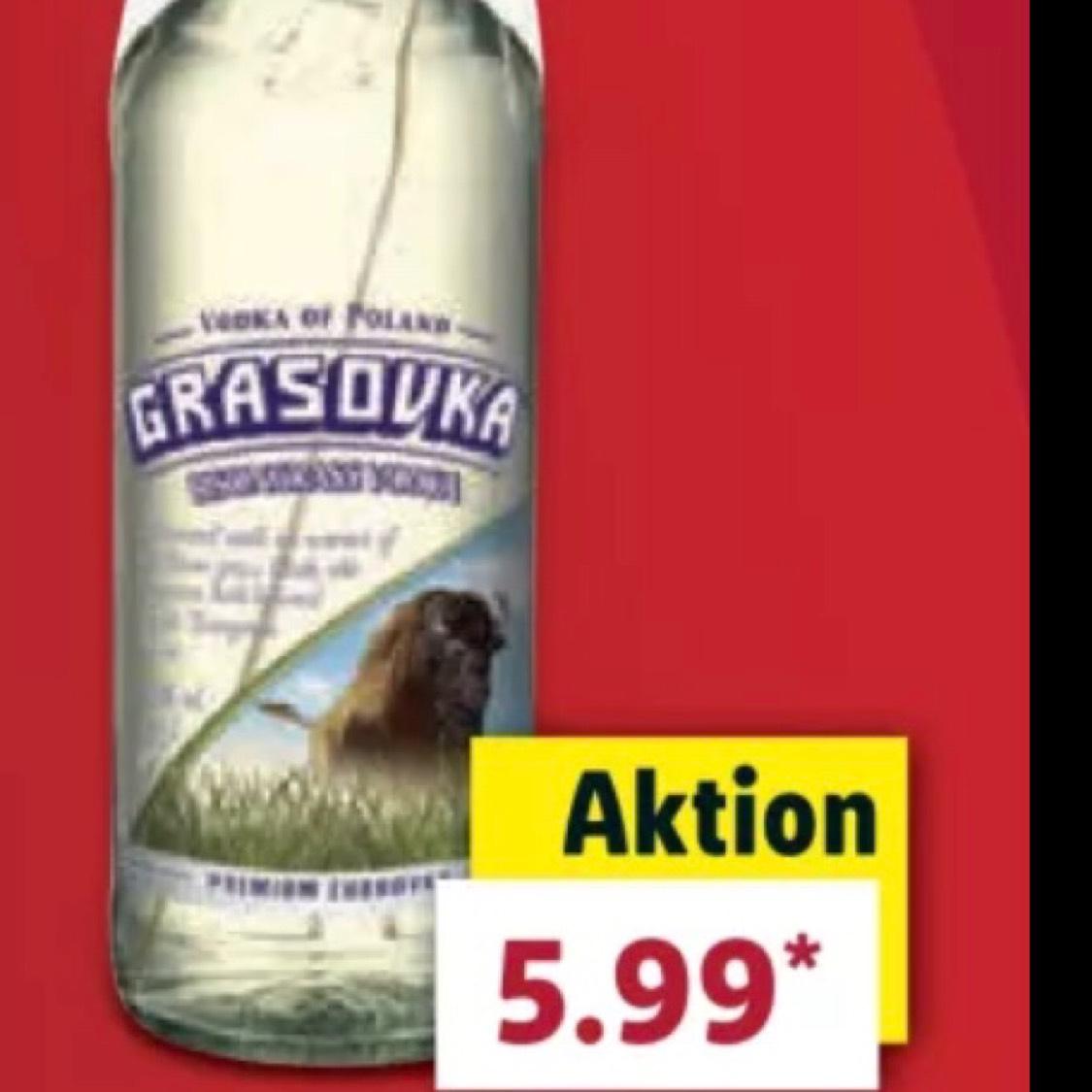(Lidl) 0,5l Grasovka Wodka für 5,99€
