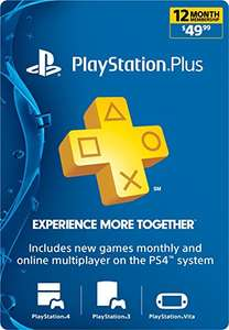 12 Monate Playstation Plus (US) für 33,91€ (Amazon.com)
