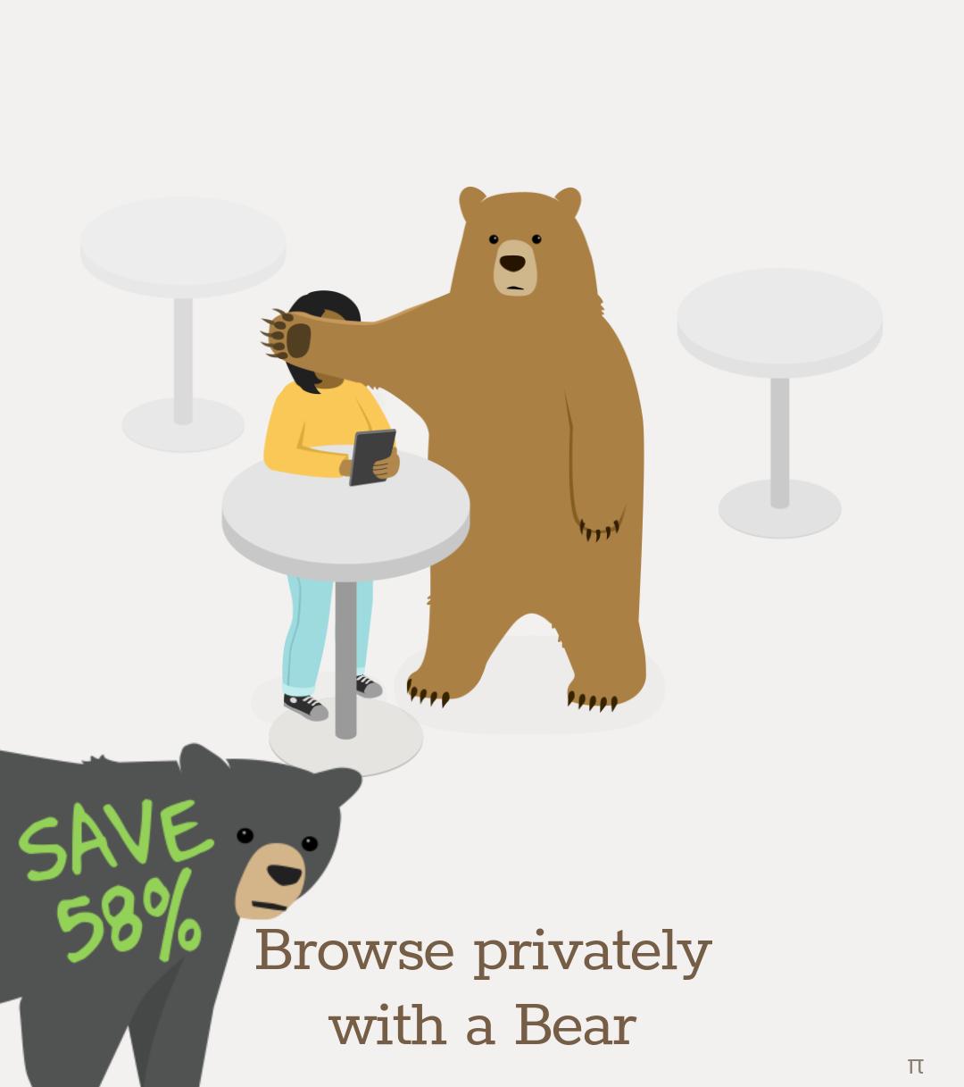 Tunnel Bear black friday Rabatt