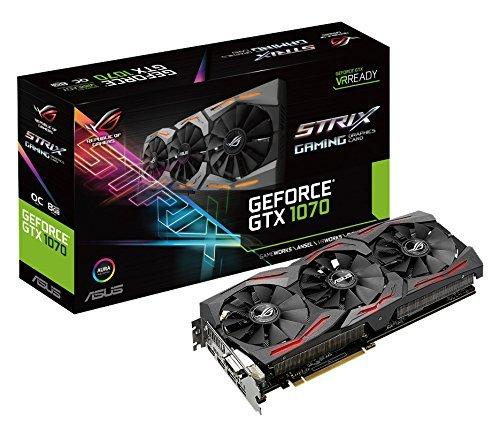 Asus ROG Strix GeForce GTX1070-O8G Gaming Grafikkarte