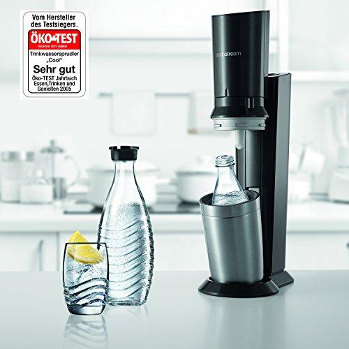 SodaStream CRYSTAL 2.0 Glaskaraffen Wassersprudler für 99€ bei Amazon !