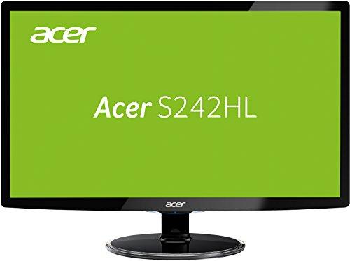 Acer S242HLDBID 60,1 cm (24 Zoll) Monitor (VGA, HDMI, 1ms Reaktionszeit) [Amazon]