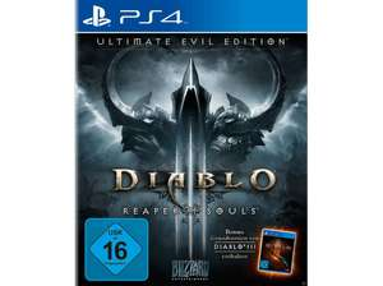 Diablo III: Reaper of Souls Ultimate Evil Edition (PS4 & Xbox One) für je 15€ (Media Markt + Amazon Prime)