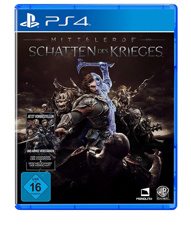 Mittelerde: Schatten des Krieges (PS4 & Xbox One) für je 33€ (Media Markt + Saturn)