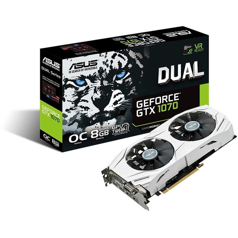 Asus Dual GeForce GTX1070 O8G