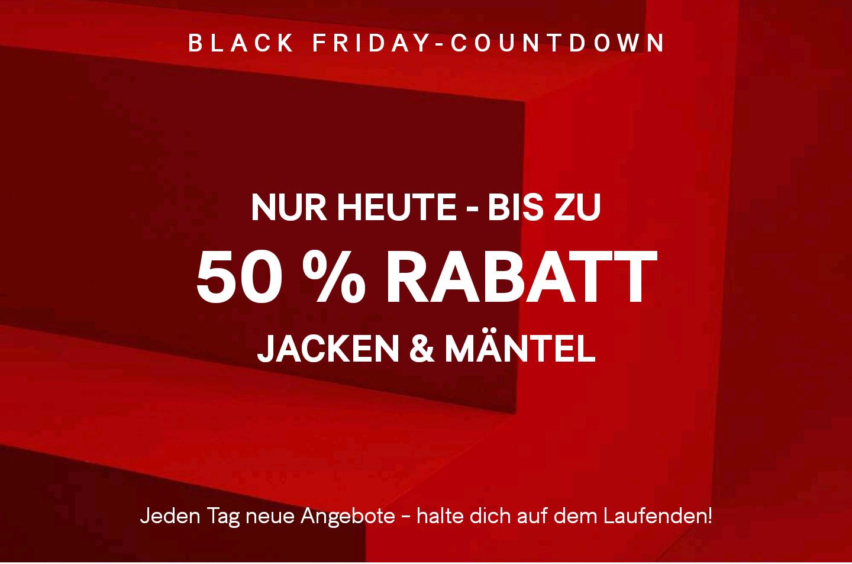 Nur Heute: H&M bis zu 50% auf ausgewählte Jacken und Mäntel + Kostenloser Versand