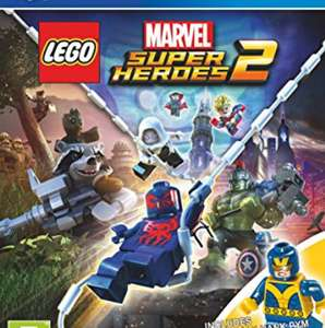 [Amazon] LEGO Super Heroes 2 für PS4 (inkl. Minifigur)