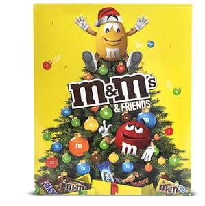 [Amazon Plus] M&M Friends Schokoladen-Adventskalender 24 Portionsbeutel, 1er Pack (1 x 361 g)
