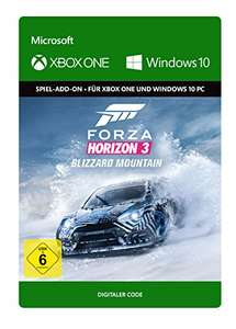 Forza Horizon 3: Blizzard Mountain DLC (Xbox One/PC Download Code) & Forza Horizon 3 VIP (Xbox One/PC Download Code) für je 10,49€ (Amazon)
