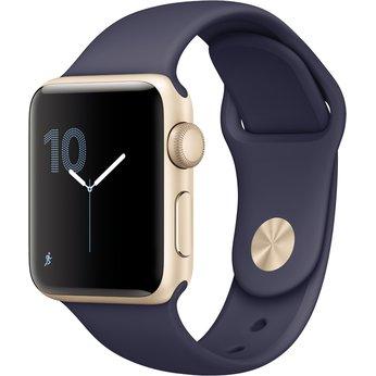 Apple Watch Series 2 38mm Aluminium gold/mitternachtsblau für 269€