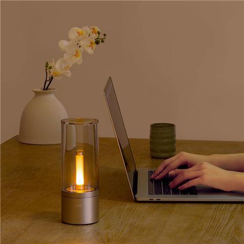 @geekbuying: XIAOMI SMART ATMOSPHERE CANDELA LIGHT (Bluetooth APP Remote Control, 2100mAh Akku)