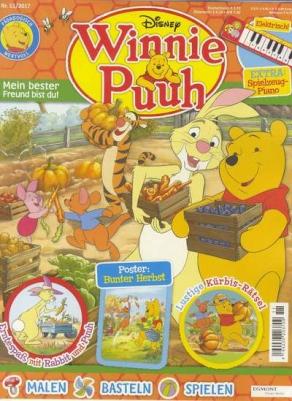 Winnie Puuh Kindermagazin (10 Ausgaben) für 41€ mit 20€ BestChoice-Gutschein als Geschenkabo